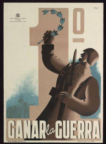 Primero ganar la guerra :: Cartells (Biblioteca de Catalunya)