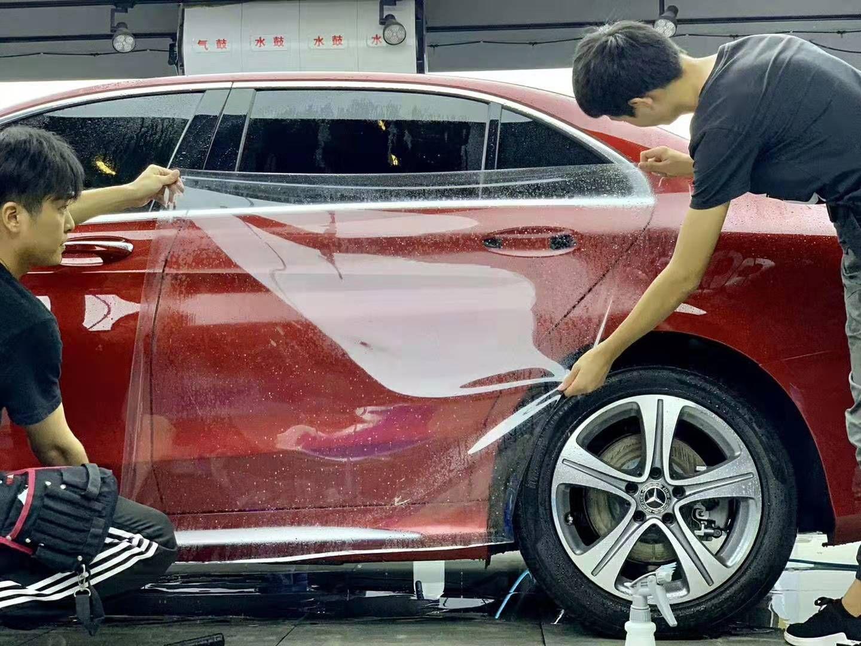 Car Film Paint Protection Mercedes Benz Film