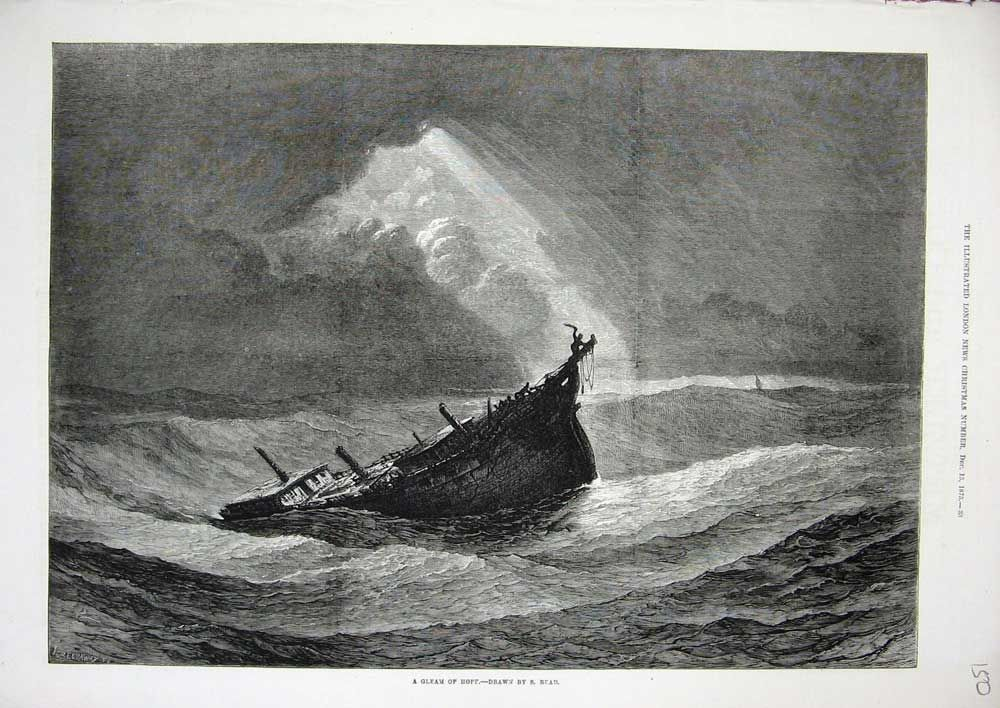 Image detail for -... Read Fine Art Ship Sinking Stormy ...