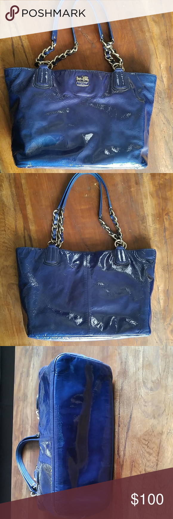 Bag Coach Patent Leather