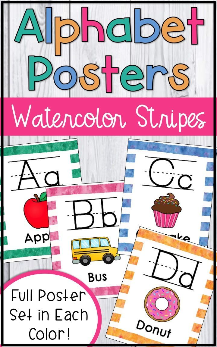 Alphabet Letters Wall Chart Cards - Alphabet Posters | Classroom ...