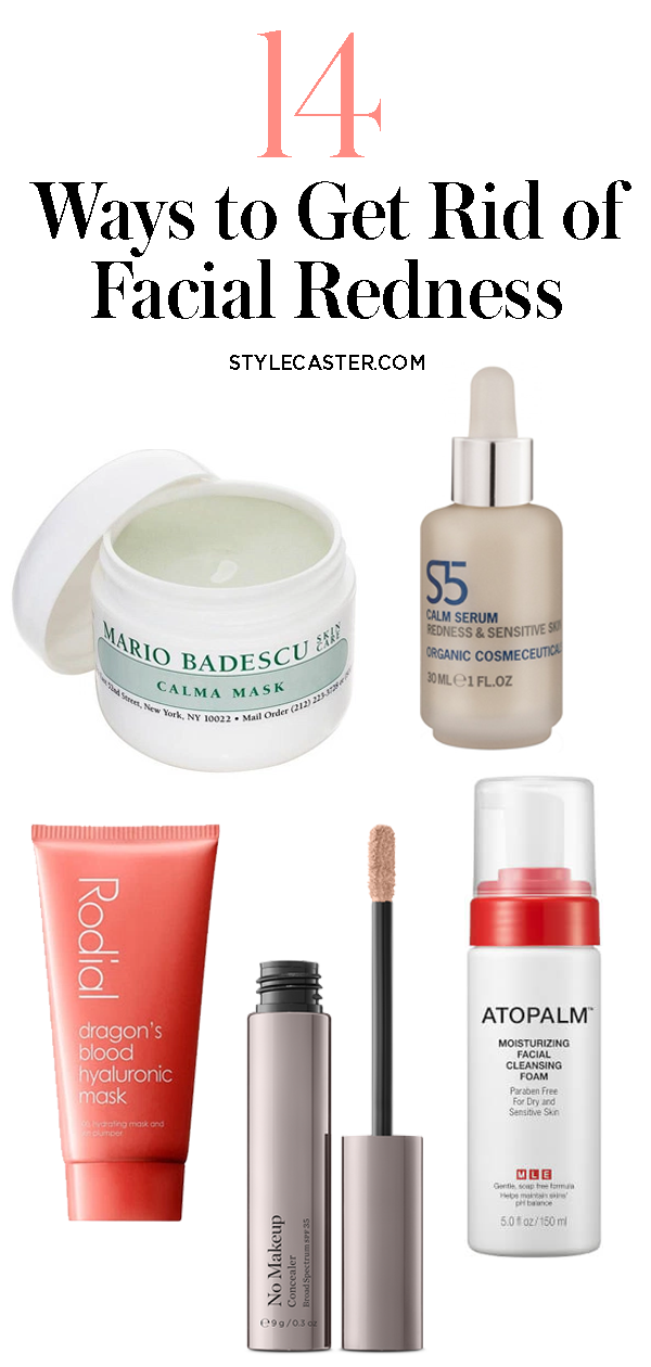 17 Products That Help Get Rid Of Redness On Your Face Redness On Face Reduce Face Redness Skin Redness
