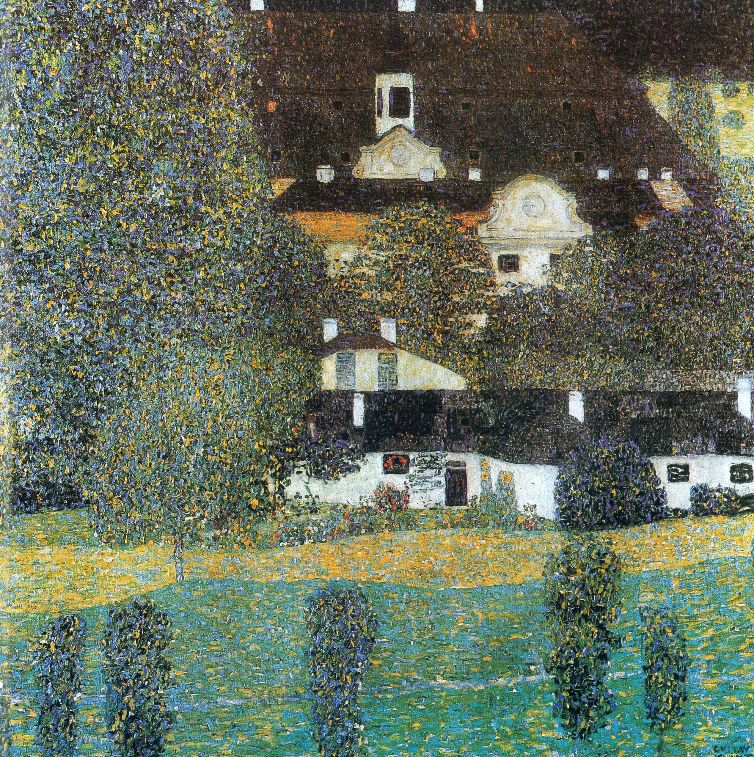 Schloss Kammer Am Attersee Ii Gustav Klimt Klimt Art Gustav Klimt Art Klimt Paintings