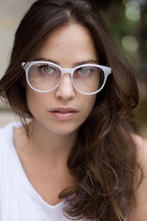 anna laub designer of prism geek chic glasses - White Glasses Frames