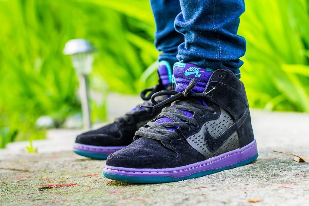 b22510098376 Check out my video review of these Nike SB Dunk High Black Grape and find  out where to grab a pair for yourself!