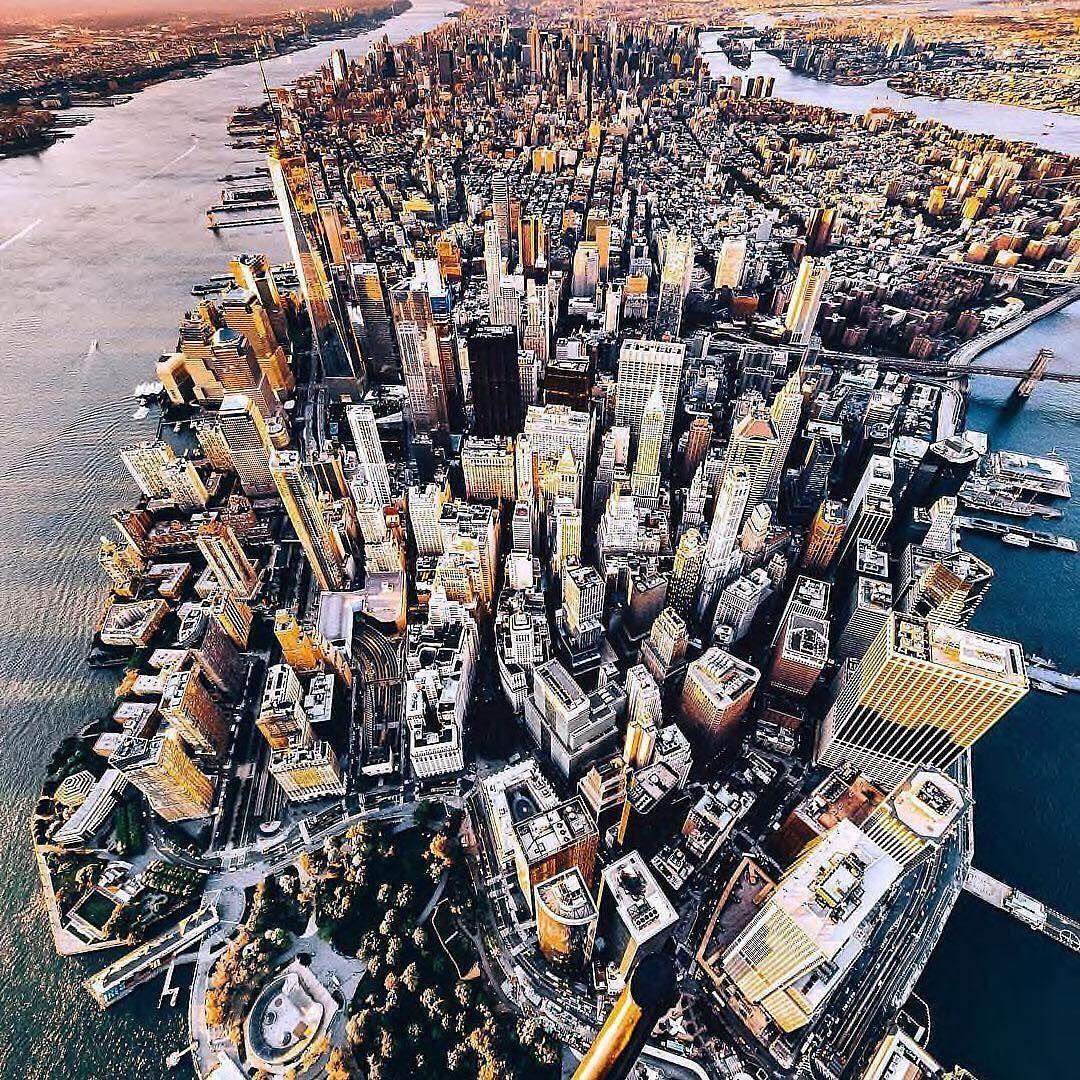 Manhattan desde el aire newyorkgram newyork nyc