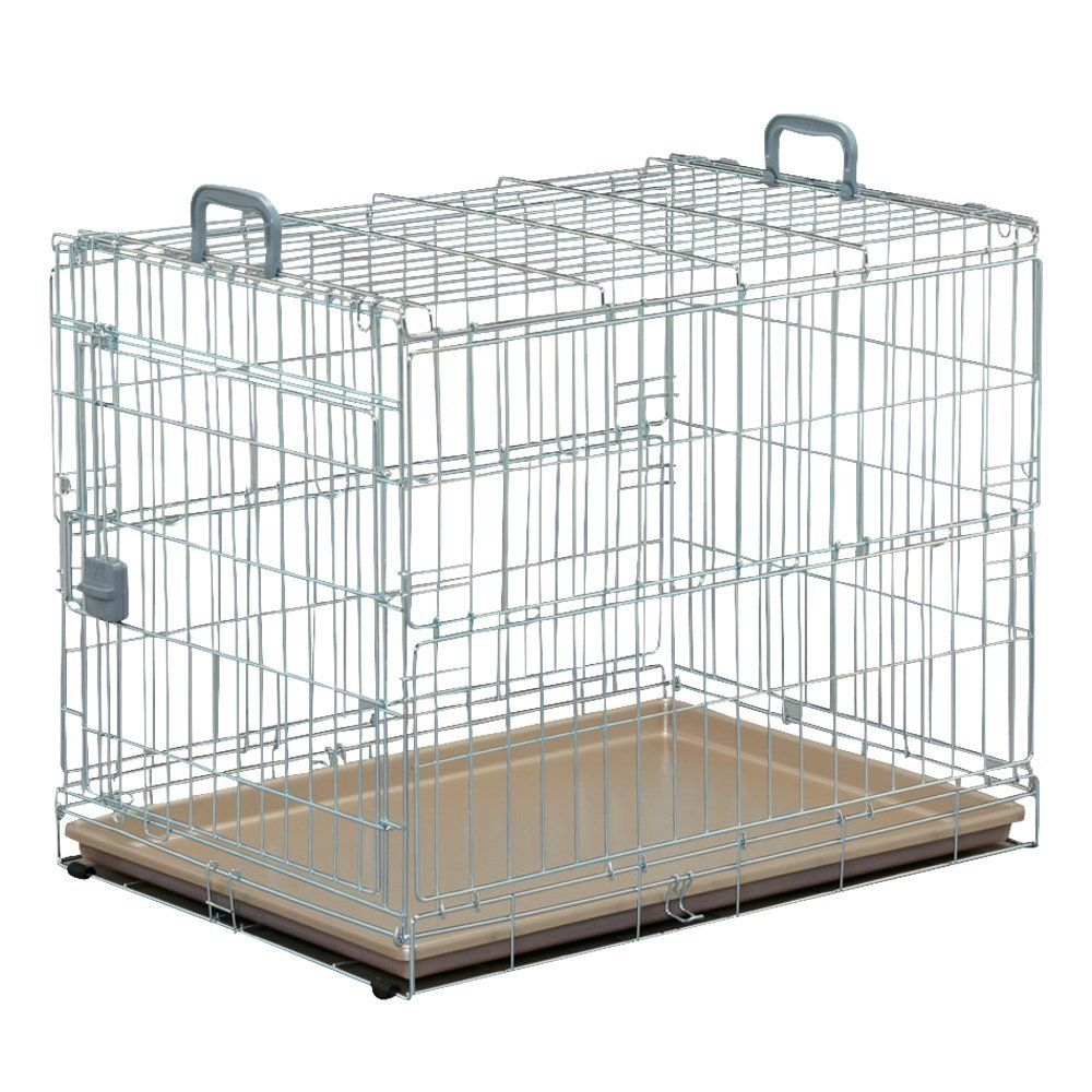 Foldable Pet Cage, OKE-750, Silver/Brown *** Wow! I love this. Check ...