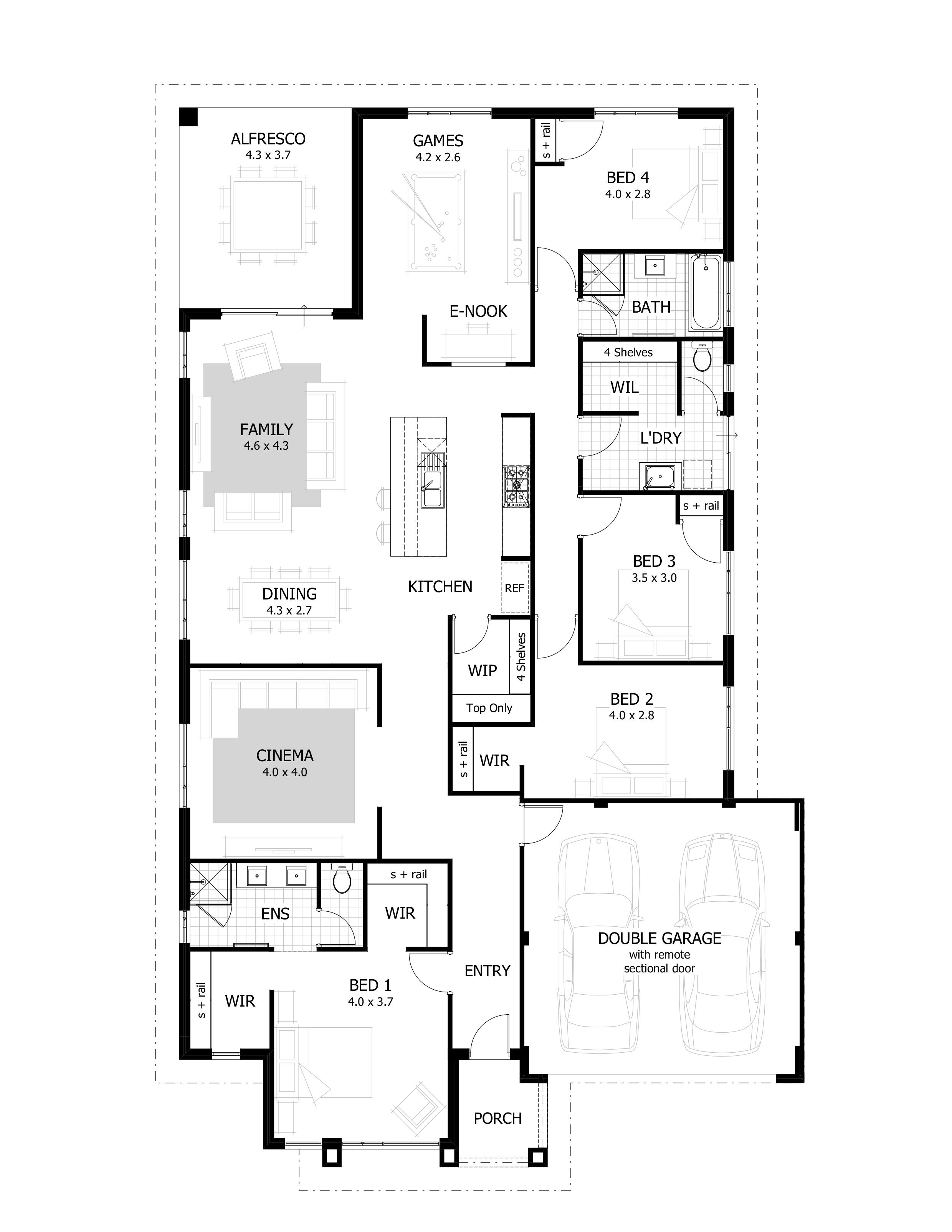4 Bedroom House Plans   Home Designs   Celebration Homes. 4 Bedroom House Plans   Home Designs   Celebration Homes   house