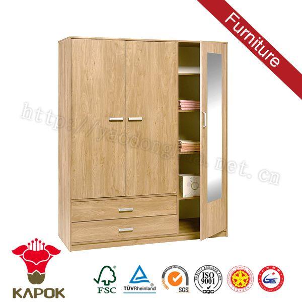Diseño rústico armario armario de madera barata en china-imagen ...