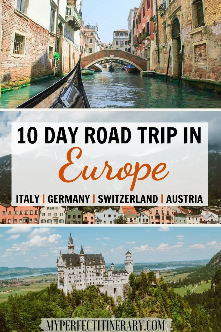 Looking for the ultimate road trip to see the best of Europe? With just one click you can see how I road gondolas in Venice saw Castles in Germany and Lake Lucerne in Switzerland in only 10 days! This 10 Day Europe Road Trip is the perfect guide for someone wanting to spend summer in Europe and wants to see a little bit of everything. You will get to see both the touristy