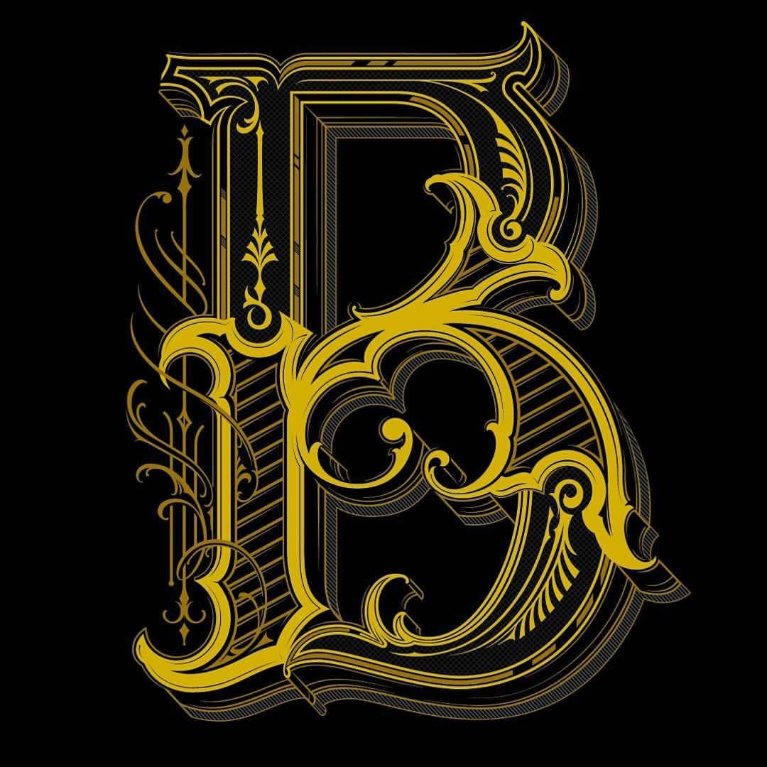 3 color versions for a letter B, which looks the best?