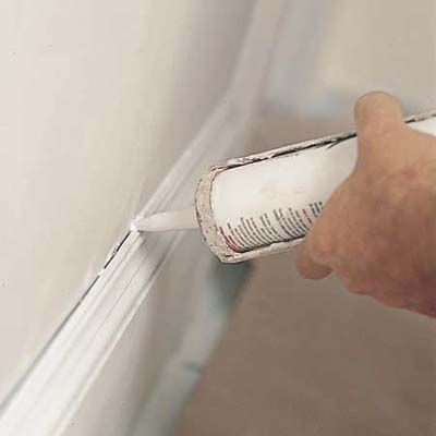 How To Paint Doors Windows And Walls Caulking Painted Doors Caulk