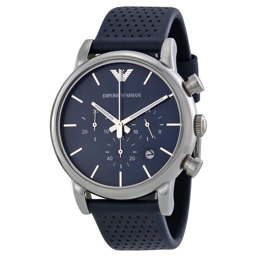Overstock Com Online Shopping Bedding Furniture Electronics Jewelry Clothing More Blue Leather Watch Chronograph Watch Men Mens Watches Leather