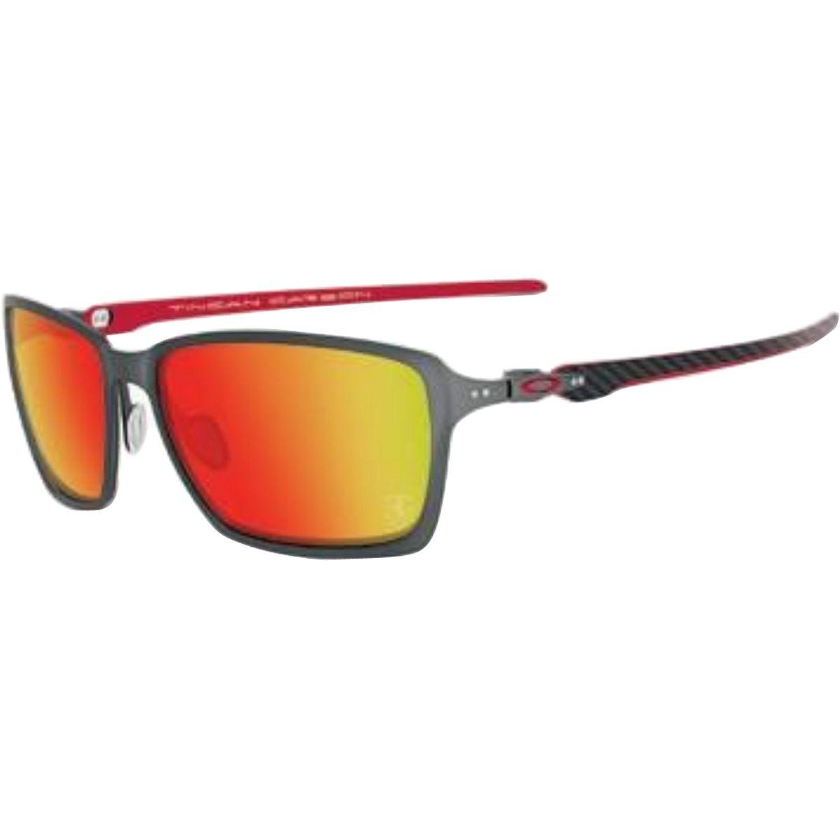 Oakley Tincan Ferrari Men s Sportswear Sunglasses - Motorhelmets ... 8287111db1
