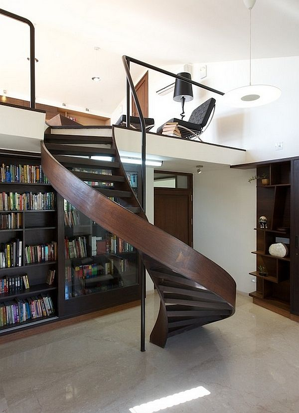 Inspirational Mezzanine Floor Designs To Elevate Your Interiors Staircase Design Modern Staircase Stairs Design