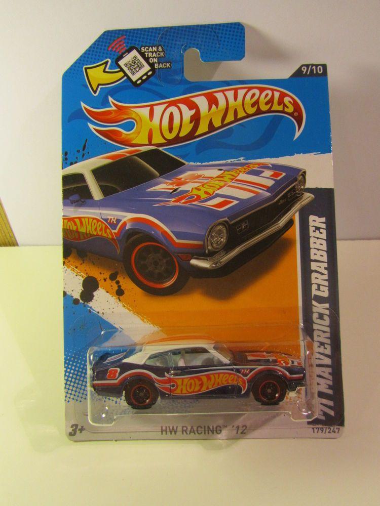 Long Card Super Treasure Hunt 2012 Hot Wheels 71 Maverick Grabber