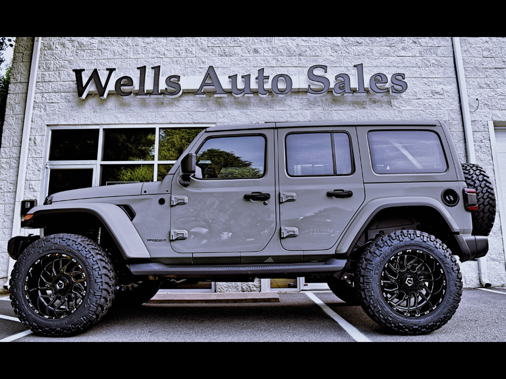 Used 2018 Jeep Wrangler Unlimited Sahara 4wd New Body Jl For Sale In Powells Point Nc 27966 Wells Auto Jeep Wrangler Sahara Jeep Wrangler Unlimited Sahara Jeep
