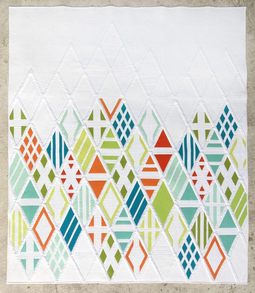 Eidos Quilt Pattern – The Modern Quilt Guild Shop   Modern Quilt ... : modern quilting patterns - Adamdwight.com