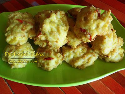 Resep Perkedel Tahu Resep Masakan Indonesia Homemade Food Carb Substitutes Healthy