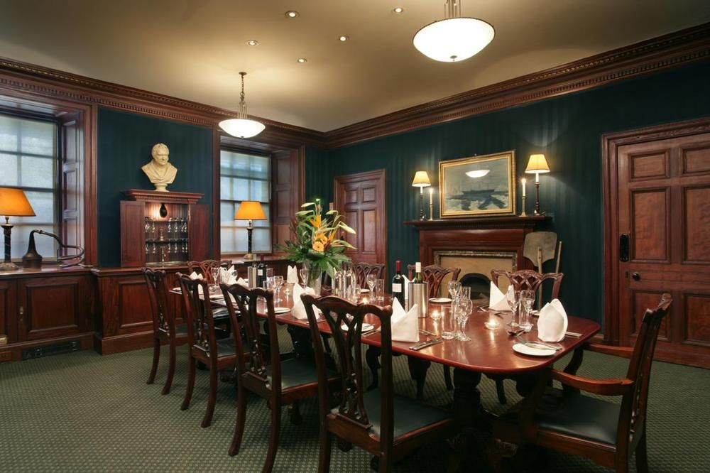 Private dining room at The Scotch Malt Whisky Society in Edinburgh ...