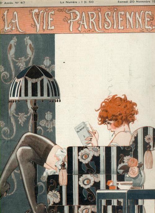 La Vie Parisienne - reading time