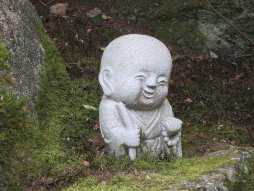 Baby Buddha! Found in Japan