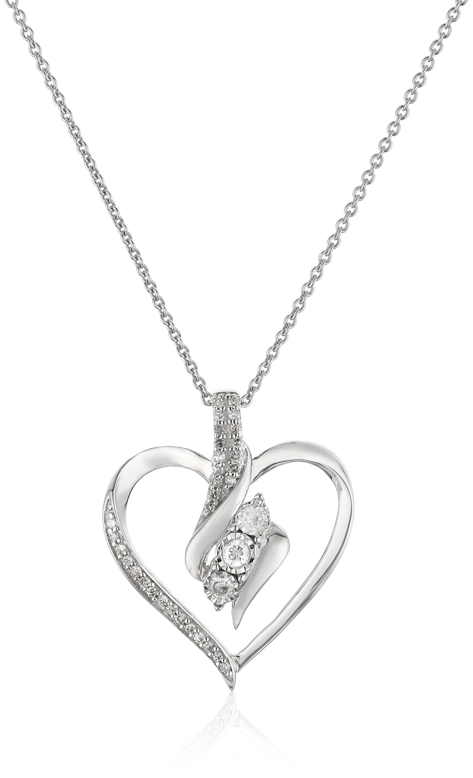 pin swarovski the pendant sterling in luxe store gems shape diamond from rounded motion