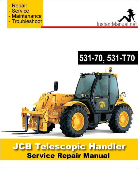 jcb 527 58 telescopic handler service repair manual download