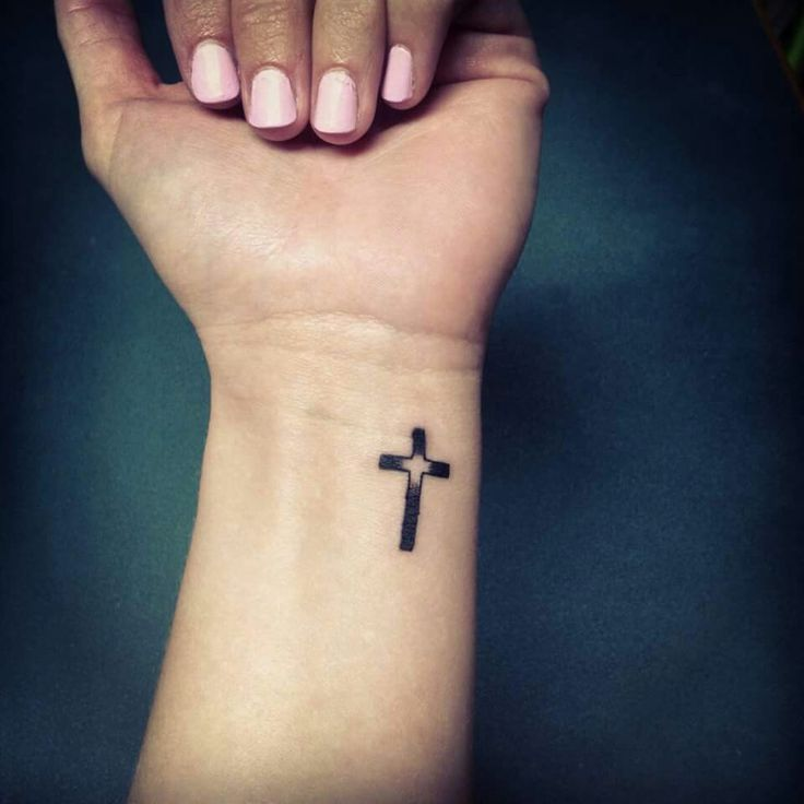 Pin On Cross Tattoos For Women