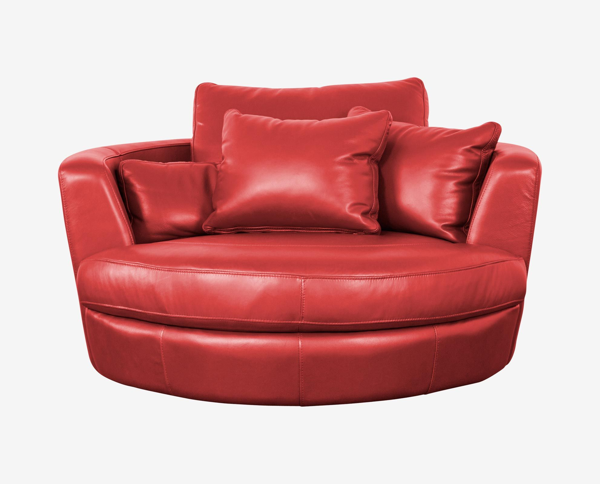 Copel Swivel Lounge Chair 53  round -- too big? : round swivel lounge chair - lorbestier.org