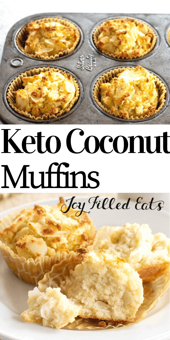 Coconut Flour Muffins Are A Delectable Way To Start The Day They Are Flavorful Simple To Coconut Flour Muffins Coconut Flour Recipes Low Carb Recipes Dessert