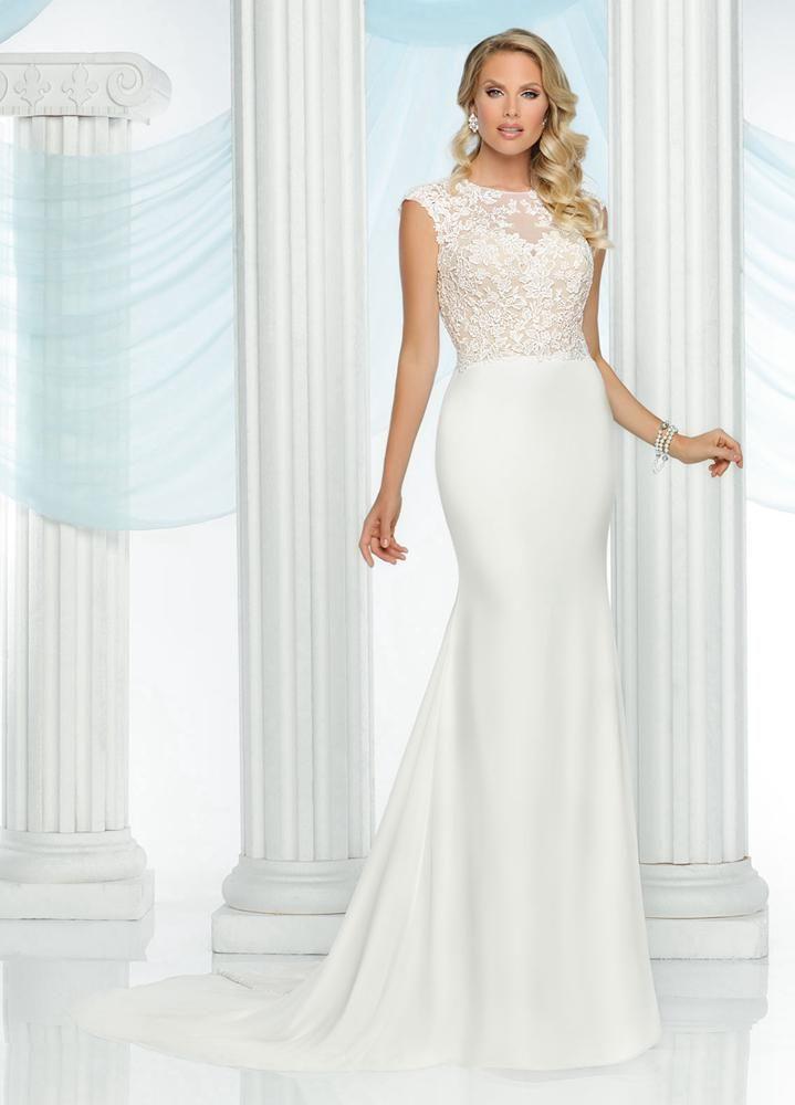 Da Vinci Bridal Gown Style - 50422   Wedding Love   Pinterest ...