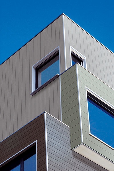 4 X 8 Wood Exterior House Panels Cattle Panel Wood Rails House Paneling Exterior Metal Facade Facade Architecture