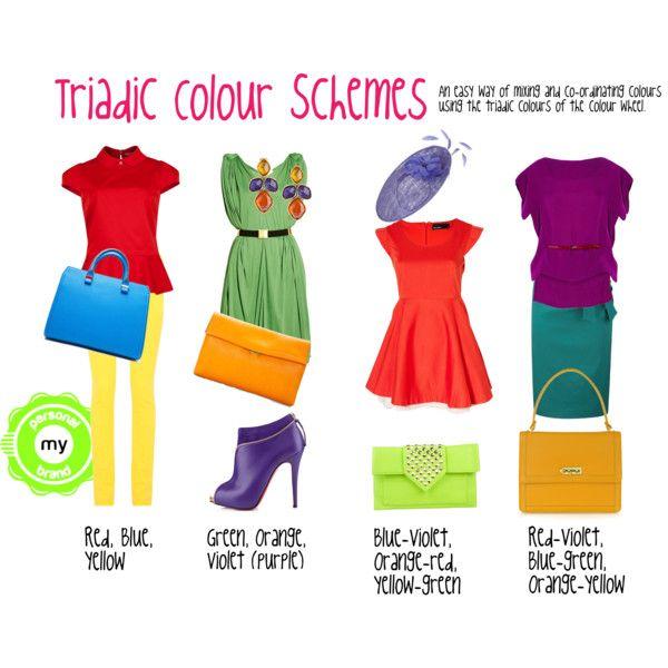 Triadic Color Scheme triadic colour schemetransform-image-consulting on polyvore