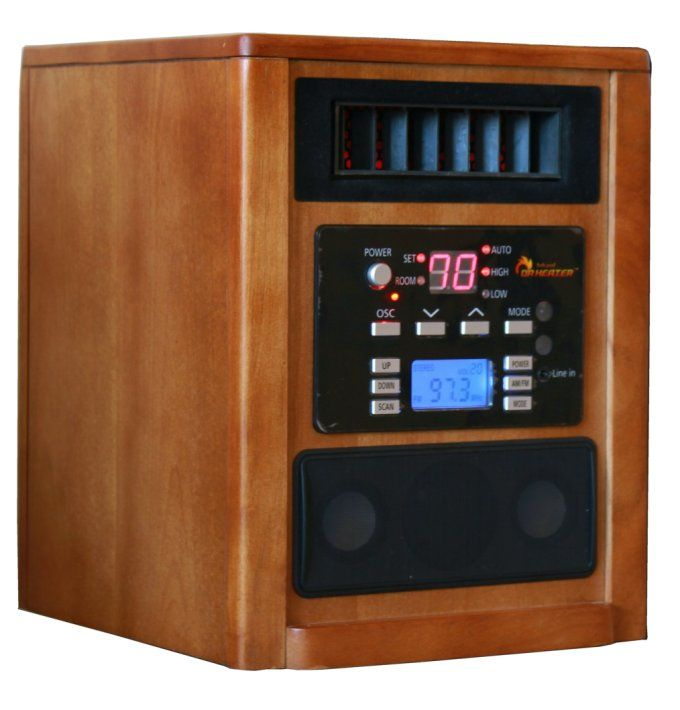 Dr. Infrared Heater DR-928 Home Improvement Portable Heaters