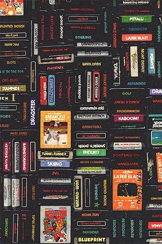 Atari Cartridges Cool Wallpapers For Phones Game Wallpaper Iphone Computer Video Games