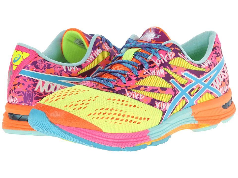 Asics 10 Yellow Womens Shoes