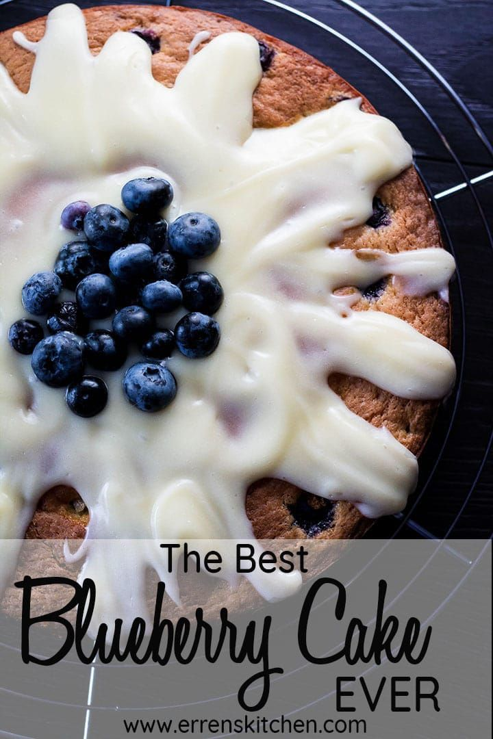 This easy recipe for Best EVER Blueberry Cake makes a wonderful, homemade cake that s great for anything from a birthday to afternoon tea. The cream cheese baked right into the cake makes a moist, flavorful cake the whole family will love.