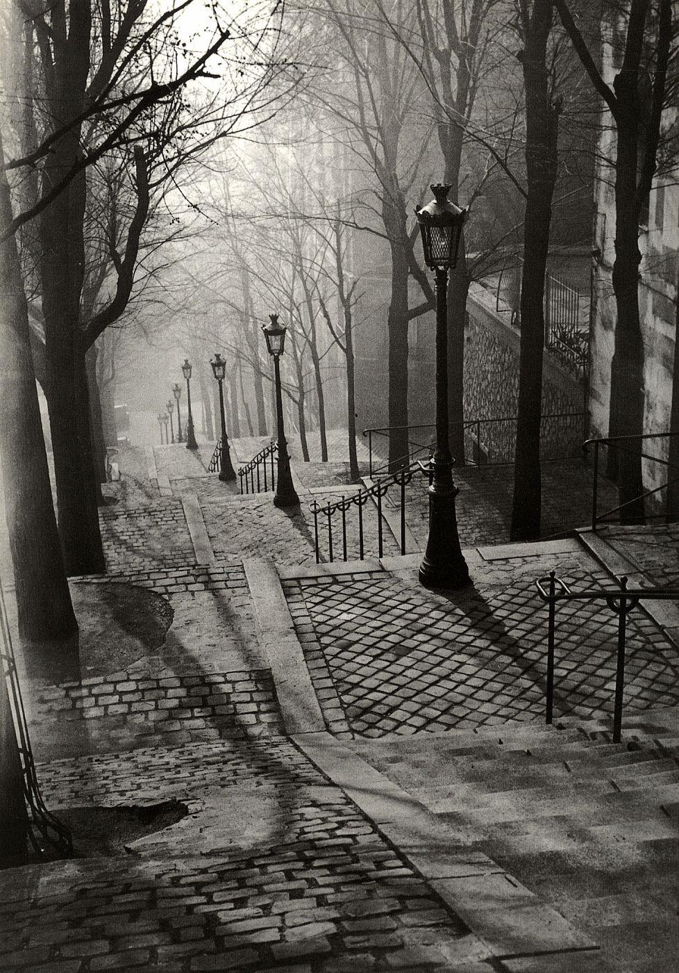 Les Escaliers de Montmartre, Paris by Brassaï   Brassaï ...