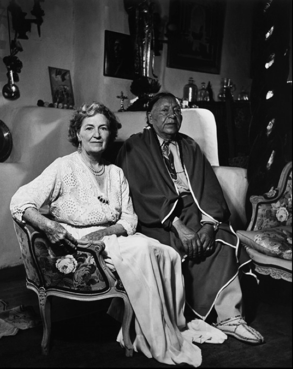 Mabel Dodge and Tony Luhan in later years | Taos, New Mexico ...