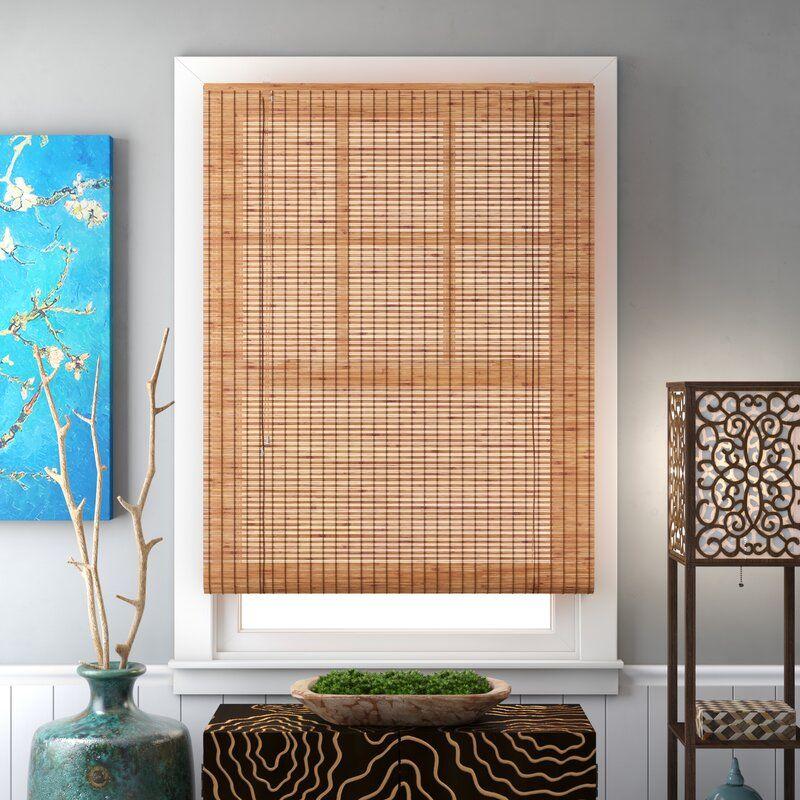 World Menagerie Semi Sheer Roll Up Shade Reviews Wayfair Bamboo Shades Honeycomb Shades Blinds