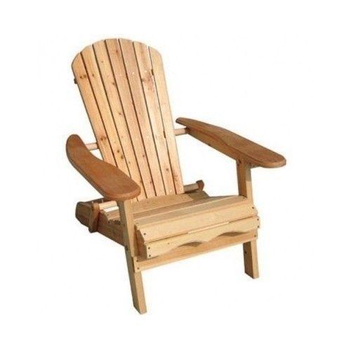 Foldable Adirondack Outdoor Pool Patio Furniture Portable Garden Beach Chair NEW