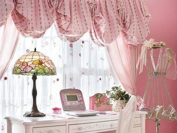 Tende shabby chic per la camera da letto interno casa - Tende classiche per camera da letto ...