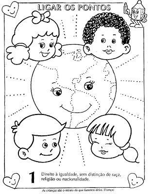 Colorir Desenhos Sobre Direitos E Deveres Da Crianca Mundinho Da Crianca Com Imagens Criancas Para Colorir Direitos Das Criancas Atividades Para Colorir