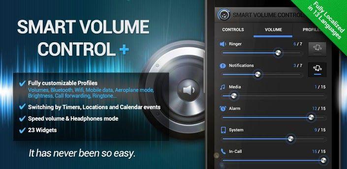 Smart Volume Control + v1 1 8 Apk | Android