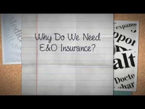 Protect yourself from health expenses. Know the benefits of having a E&O insurance. http://goo.gl/9eYKaK