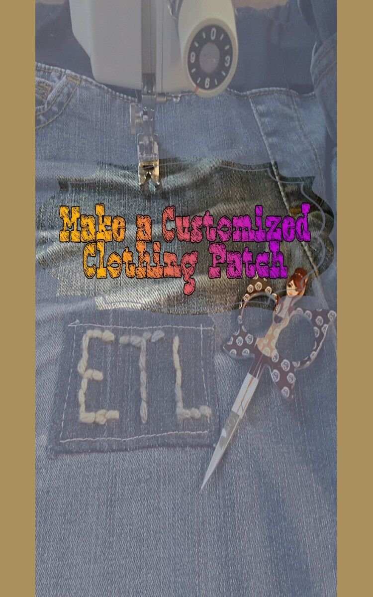 How to Make a Customized Clothing Patch Moms crafts