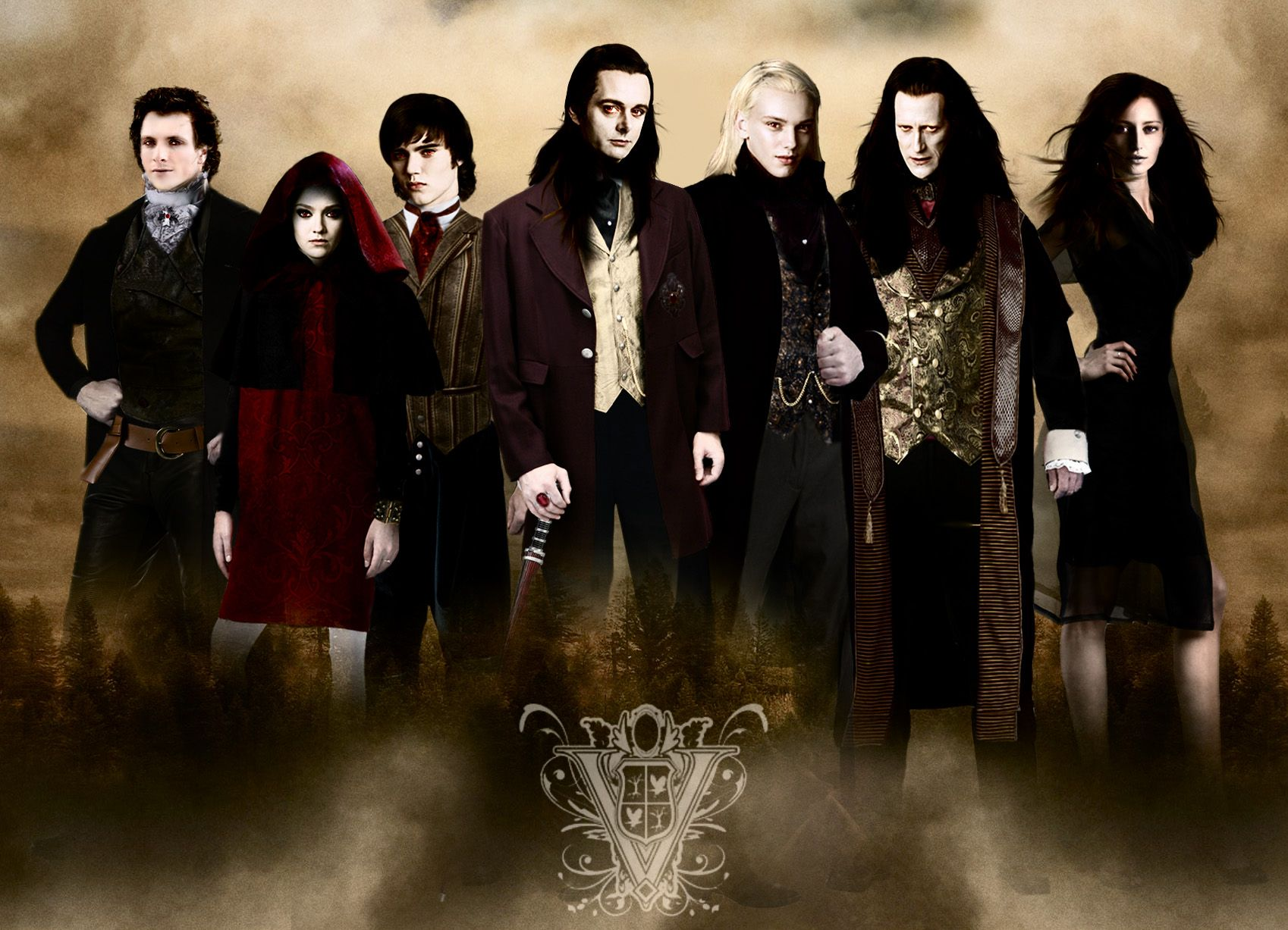 Twilight characters new moon images twilight cast and for New moon vampire movie