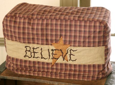 Believe Toaster Cover, 4 Slice Toaster cover