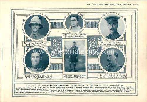1915 Victoria Cross Winners Dead On The Field | eBay